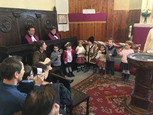 Advent - Margaréta csoportos gyemekek - Örömhír Óvoda Veszprém